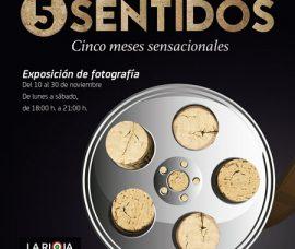 """Las fotografías """"El Rioja y los 5 sentidos"""", en el Centro de Nájera"""