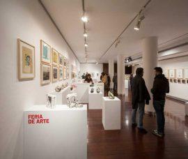 II Feria de Arte con Balanza, Corres, Jubera, Ortega y Lafuente