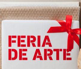 Navaridas, Olarte, Ana Sanz, Mercadal y Andrés Tena, en la Feria de Arte