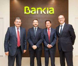 Bankia aporta 400.000 euros a la Fundación Caja Rioja
