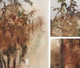 Las pinturas de Isabel Benito, en el Centro de Nájera
