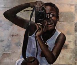 Pinturas de Susana González en el Centro de Arnedo
