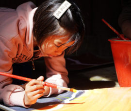 """Kachin: """"Infancia, arte y guerra"""", en el Centro de Haro"""