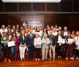 Bankia y Fundación Caja Rioja entregan 80.000 euros a 25 entidades
