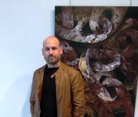 """Frank J. Pardo expone """"Marcos existenciales"""" en el Centro de Arnedo"""