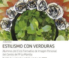 El Centro Fundación Caja Rioja-Bankia Santo Domingo de La Calzada acoge desde hoy una exposición de tocados elaborados con verduras