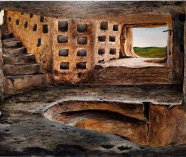 El Centro Fundación Caja Rioja-Bankia Calahorra muestra la expo 'Cuevas, nuestro patrimonio'