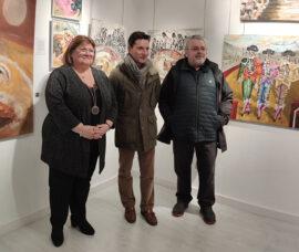 El Centro de Arnedo acoge una exposición de pintura del alfareño Fernando Nievas