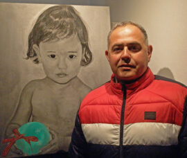 Francisco Javier Martínez Blanco participa en la iniciativa 'Yo expongo' con un retrato