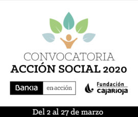 Bankia y Fundación Caja Rioja apoyan con 80.000 euros proyectos sociales de asociaciones riojanas