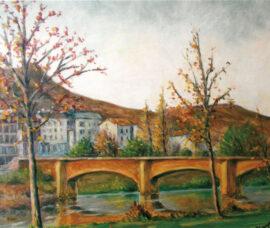 Alfonso Domínguez muestra su obra en el Centro Fundación Caja Rioja-Bankia Nájera