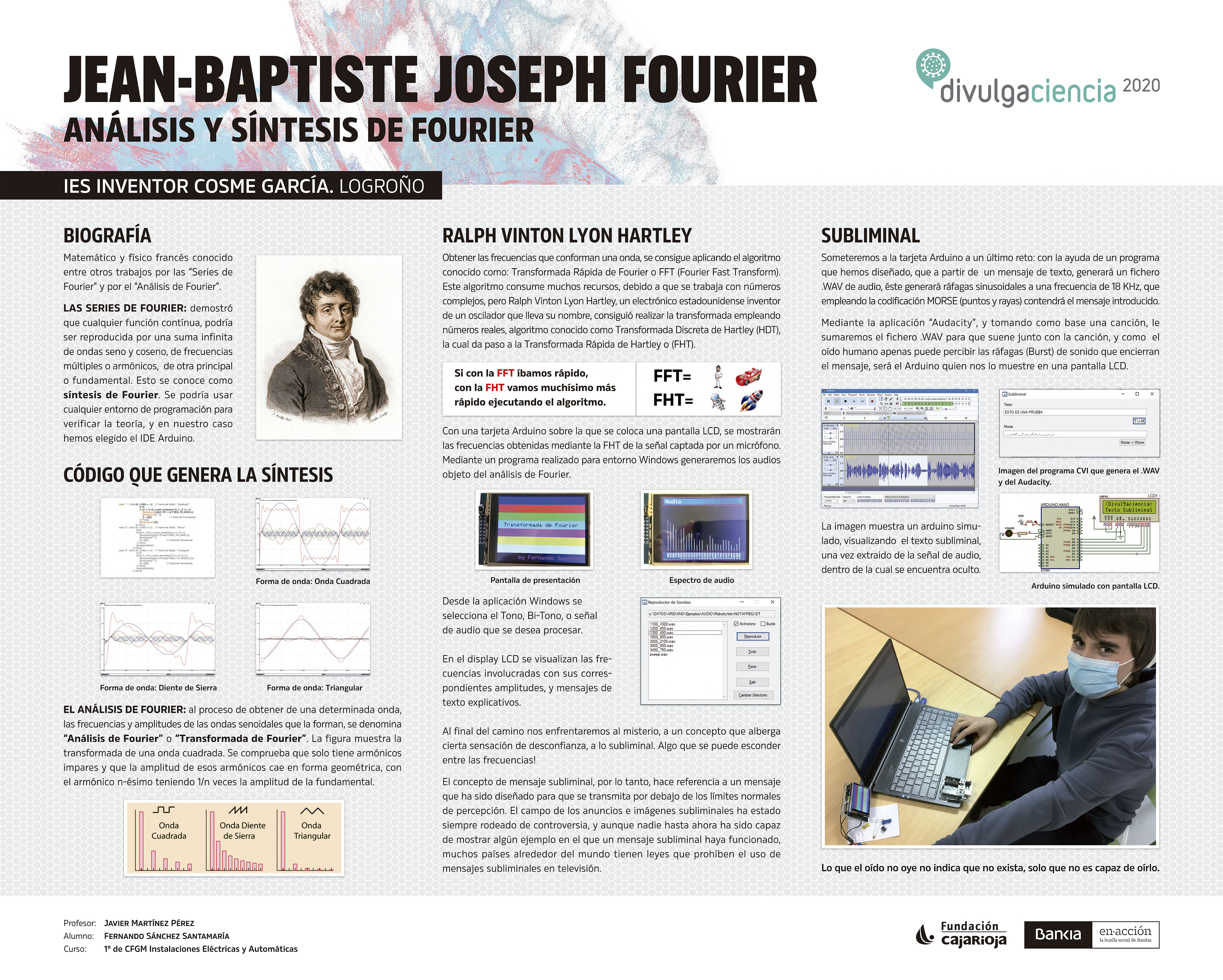 Panel JEAN-BAPTISTE JOSEPH FOURIER