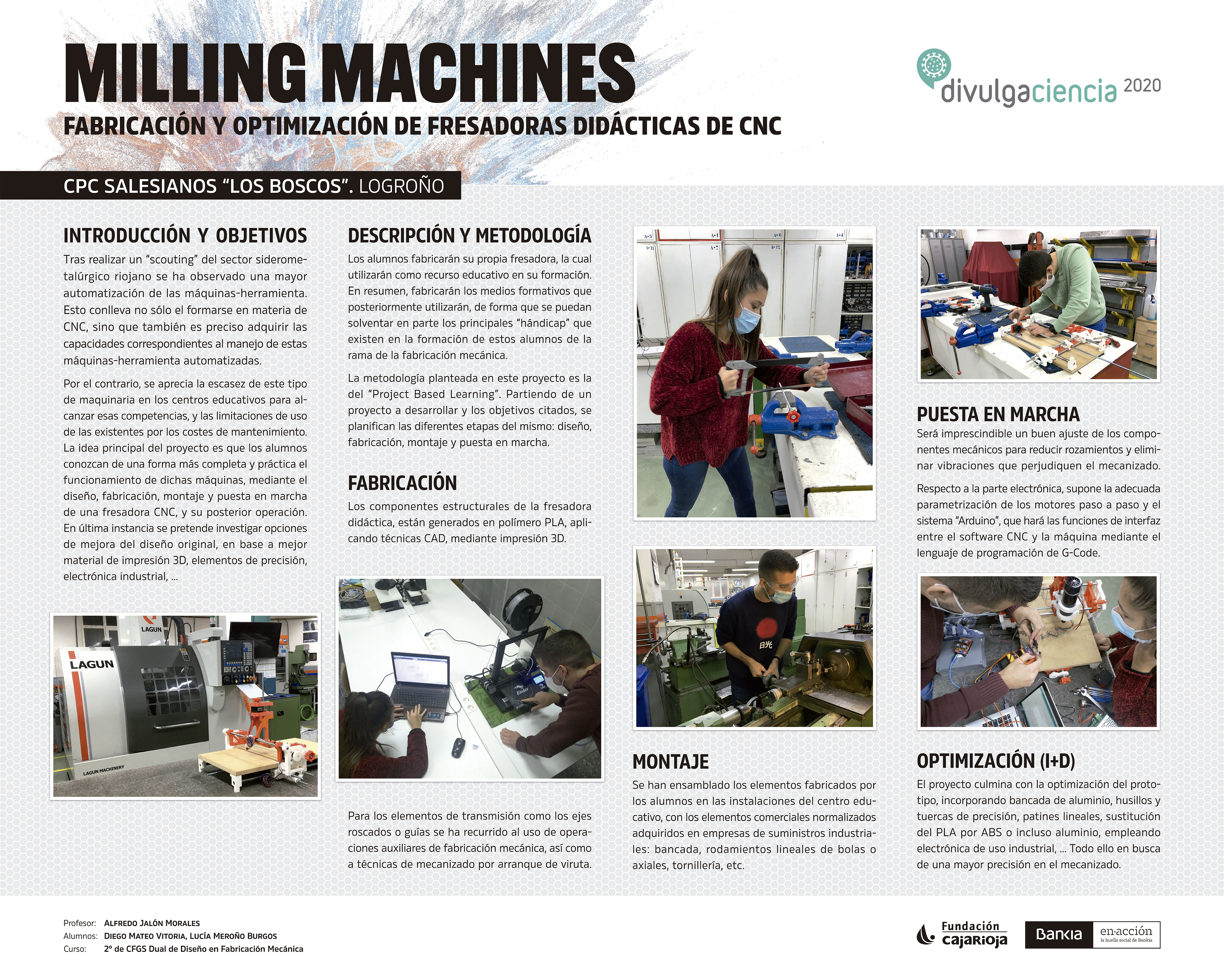 Panel MILLING MACHINES