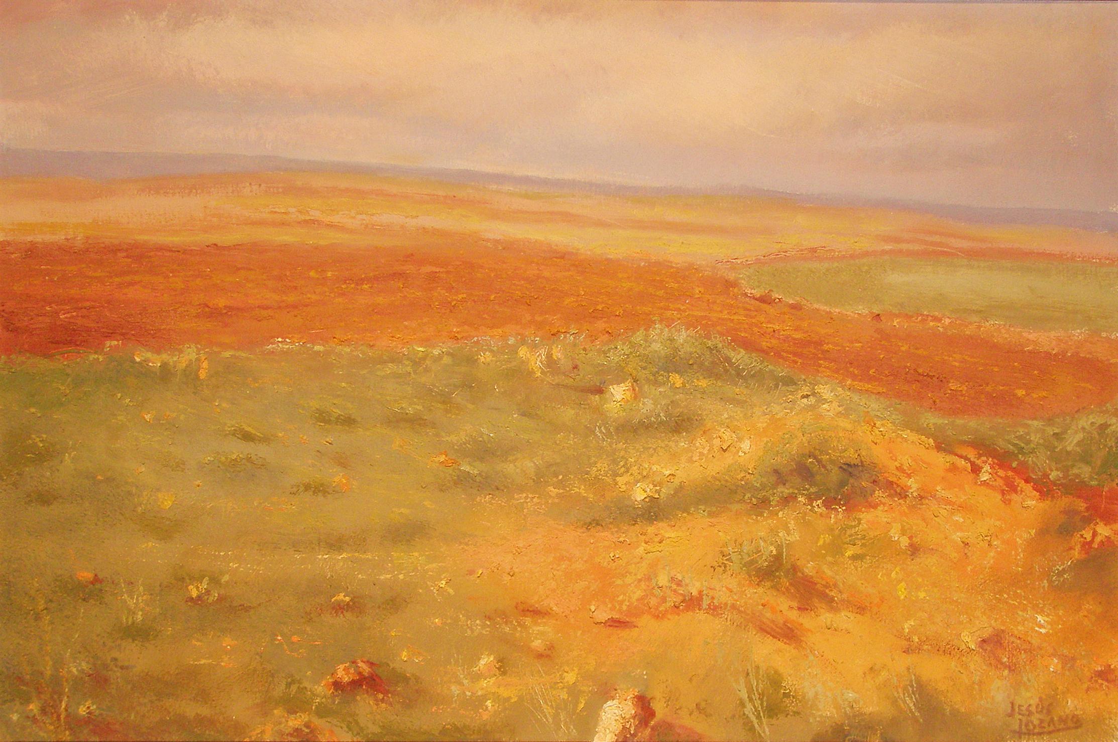 Jesús Lozano PAISAJE Mixta. 39 x 60 cm. 1998