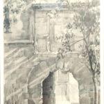 Rosa Castellot  S/T (EL REVELLÍN)  Grafito. 100 x 45 cm. 1978