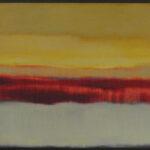 Ana Sanz S/T Óleo sobre lienzo. 50 x 170 cm