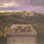 G. Armentia OFRENDA DE OTOÑO Óleo  S/Lienzo. 81 x 116 cm. 1998