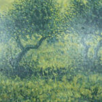 Francisco Hidalgo Mariscal S/T Óleo sobre lienzo.  55 x 46 cm.  1990