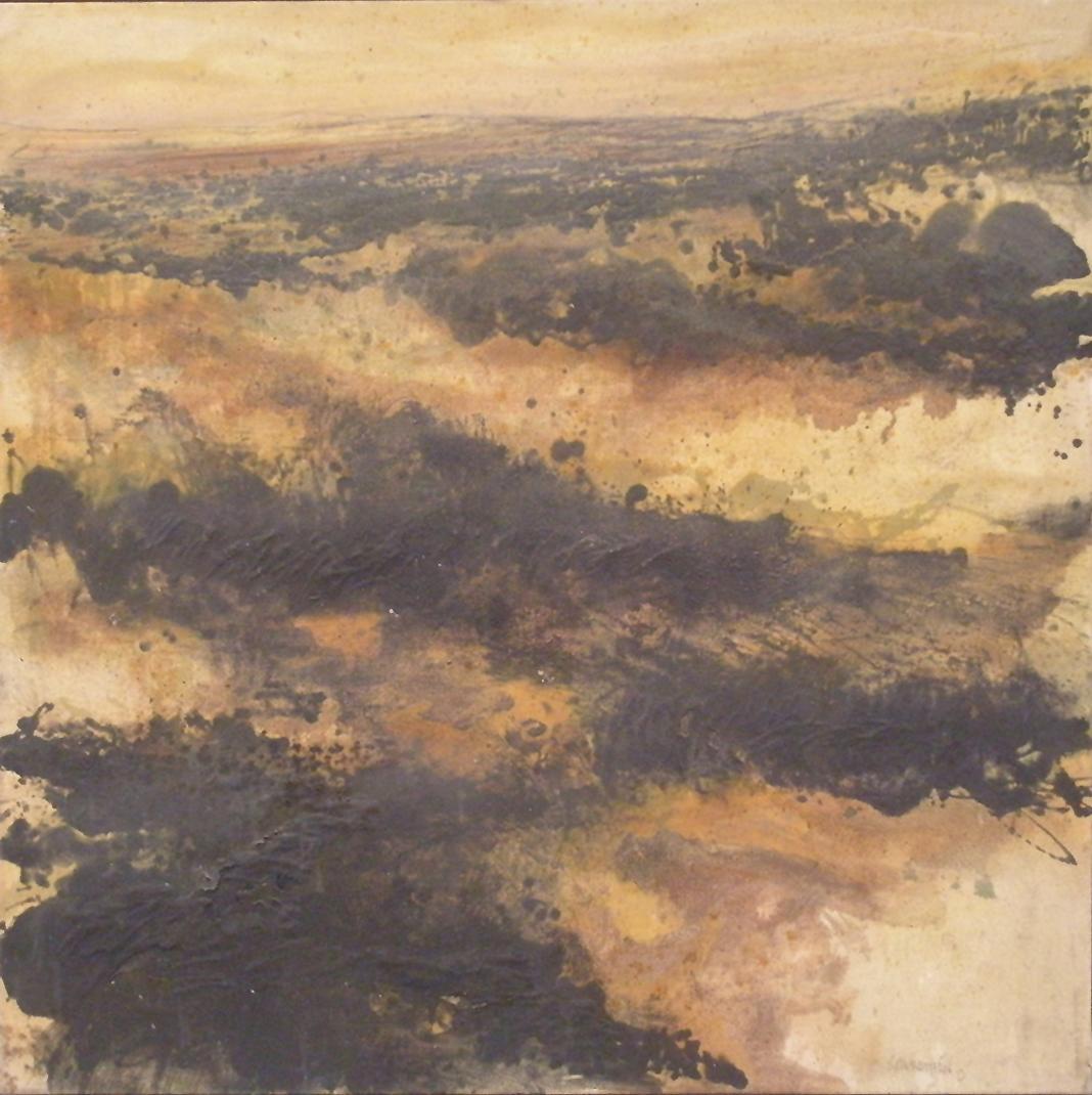 Julio Sarramián S/T Mixta sobre lienzo. 100 x 100 cm