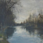 Juan José Ortega  S/T  Mixta S/Lienzo. 97 x 130 cm