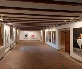 La exposición 'Bailarinas del mundo' se muestra en el Centro Fundación Caja Rioja Haro