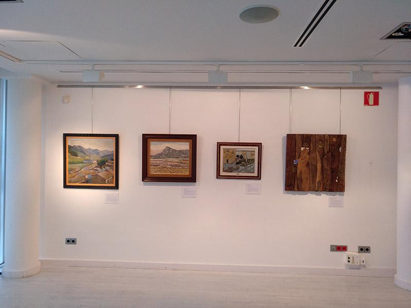 Artistas Riojanos en la Colección Fundación Caja Rioja' en Haro y Santo Domingo de la Calzada