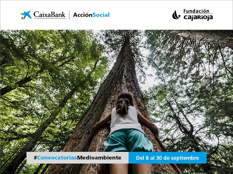 CaixaBank y Fundación Caja Rioja convocan ayudas por 30.000 euros para proyectos medioambientales en La Rioja