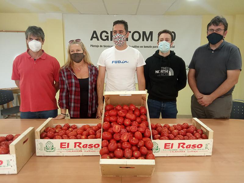 Ctic Cita, Cooperativa El Raso, Universidad de La Rioja y Fundación Caja Rioja presentan la cosecha del año 2021 del proyecto AGRITOM2.0 para impulsar el cultivo del tomate