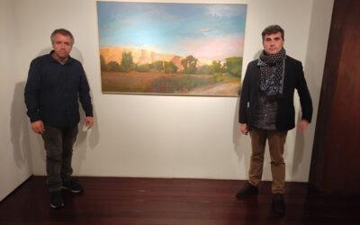La Fundación Caja Rioja incorpora a su colección de arte una obra de Javier Garrido